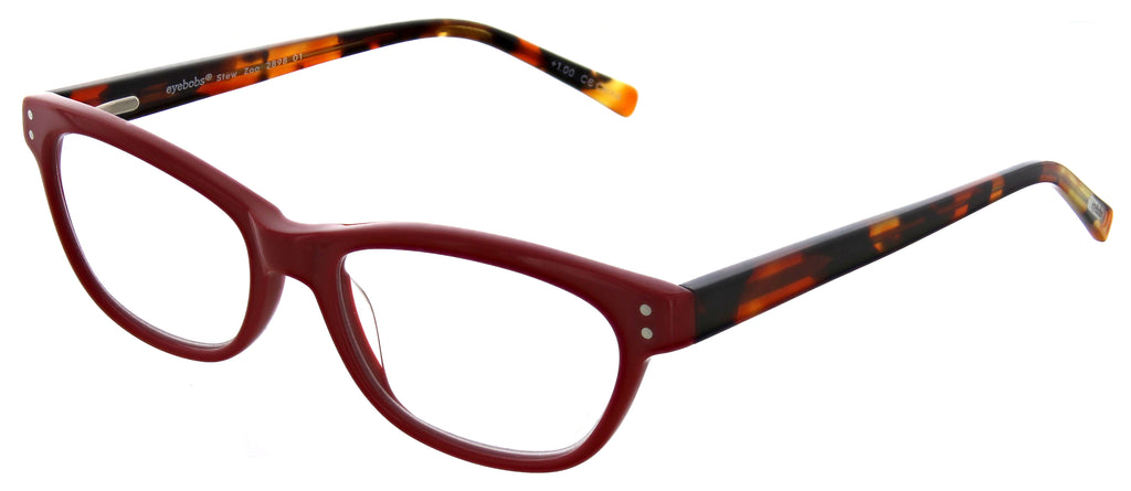 Eyebobs-2898 Stew Zoo-01 Red Tortoise +1.50