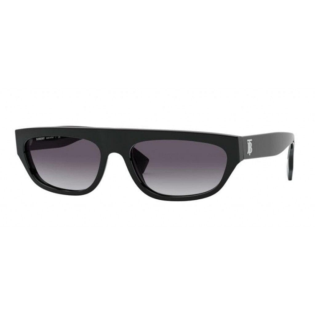 Burberry-BE4301 Bow-30018G Black Gray Gradient