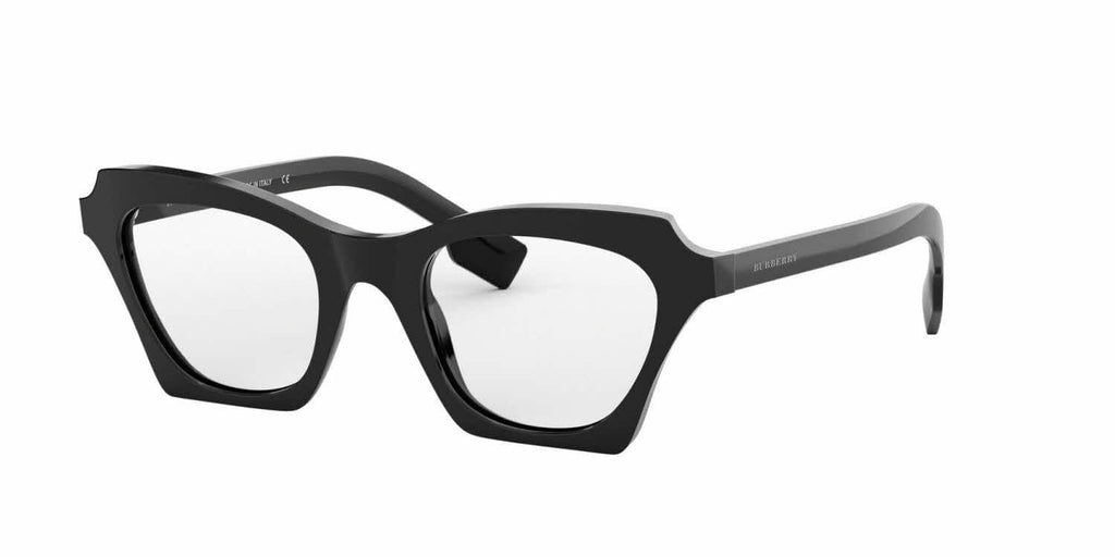 Burberry-BE4283-30011W Black Transparent