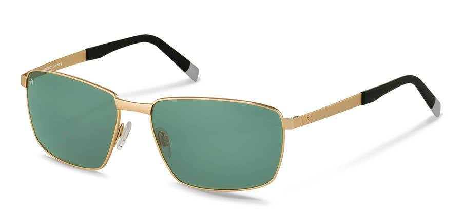 Rodenstock-R7409-C Light Gold/Black Pilot Green