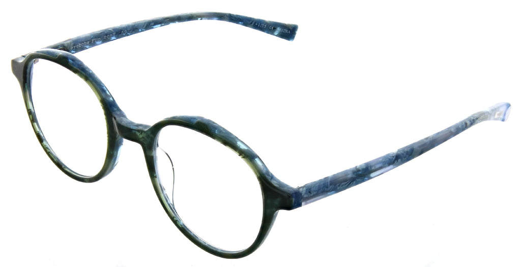 Eyebobs-2607 Flip-59 Blue Green Multi +2.50