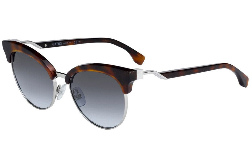 Fendi-FF0229/S-0086/GB Dark Havana Gray Gradient