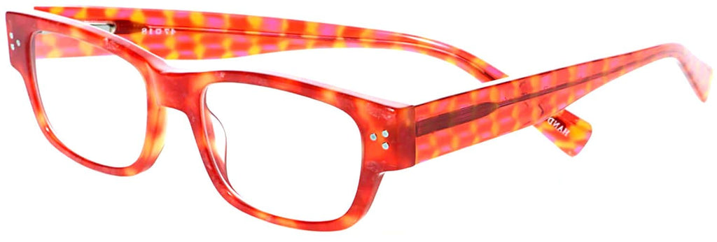 Eyebobs-2883 Dot Com-46 Red Orange Tortoise +1.00