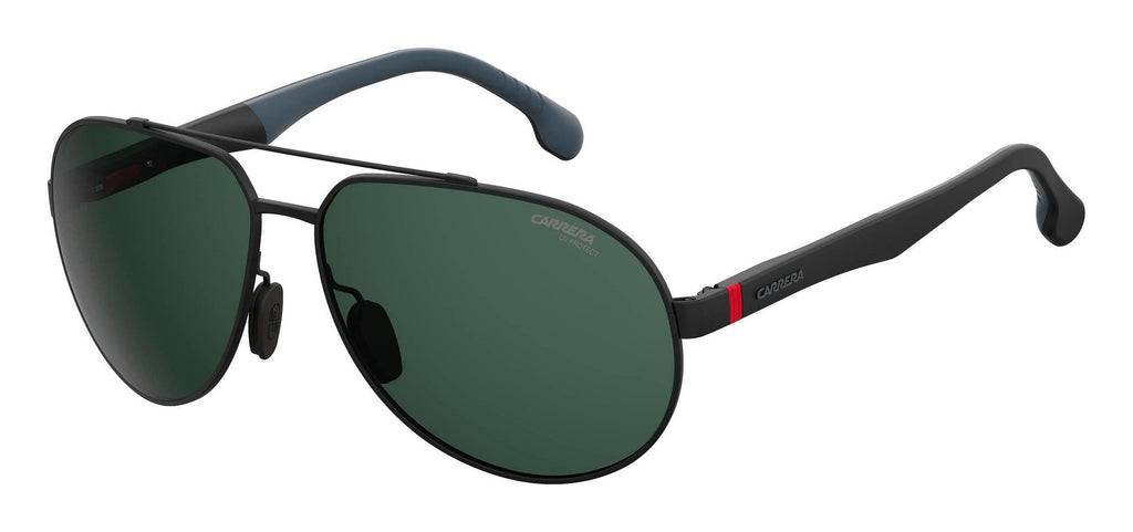Carrera-8025/S-0O6W/QT Blue/Ruthenium/Dark Gray Green