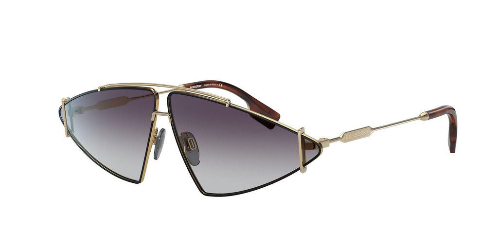 Burberry-BE3111-10178G Gold/Black Gray Gradient