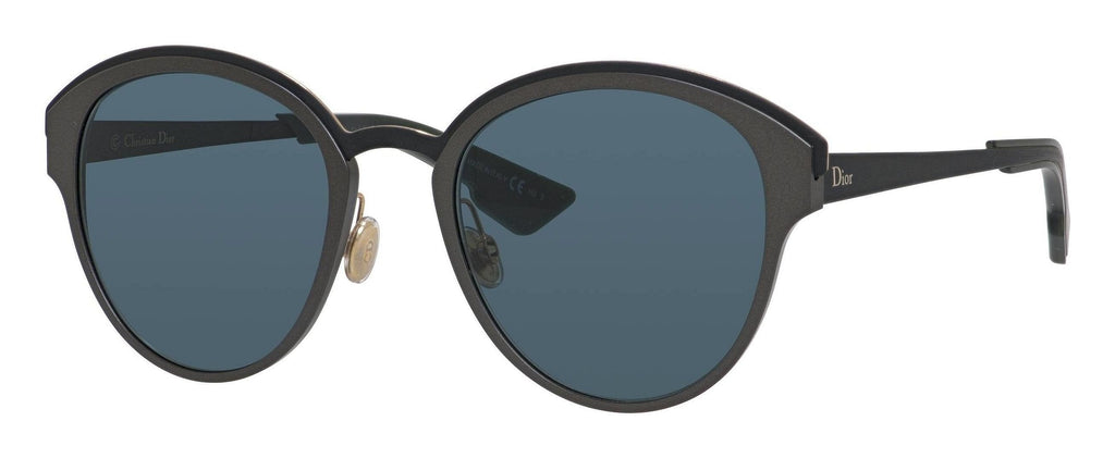 Dior-SUNS-0RCO/9A Matte Dark Rust/Black Blue