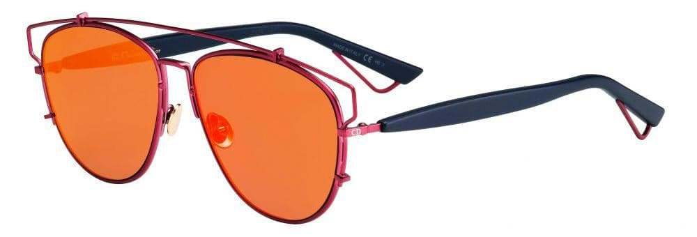 Dior-TECHNOS-0TVH/MJ Matte Fuschia/Black Orange Fuschia Mirror