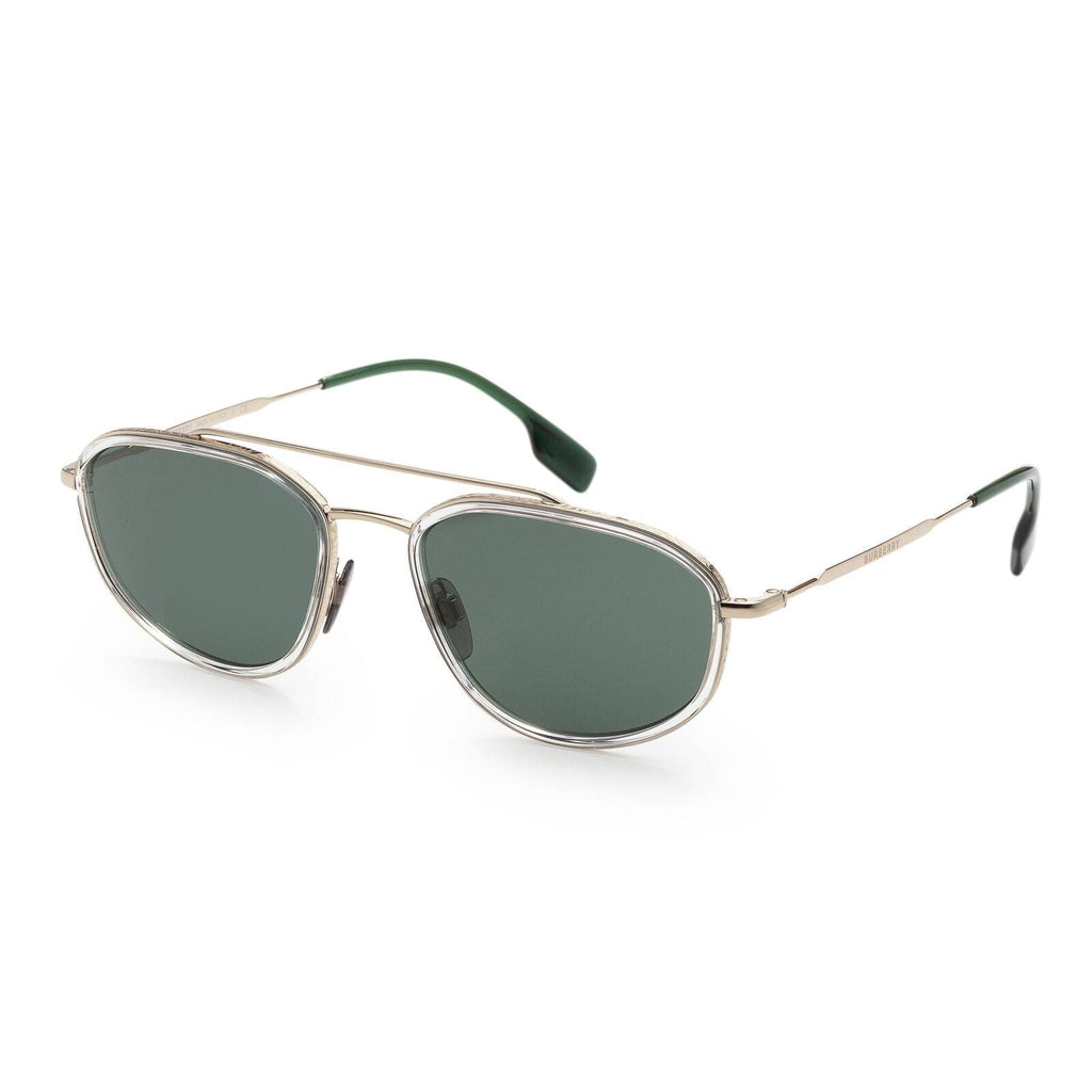 Burberry-BE3106-110971 Gold/Transparent Green