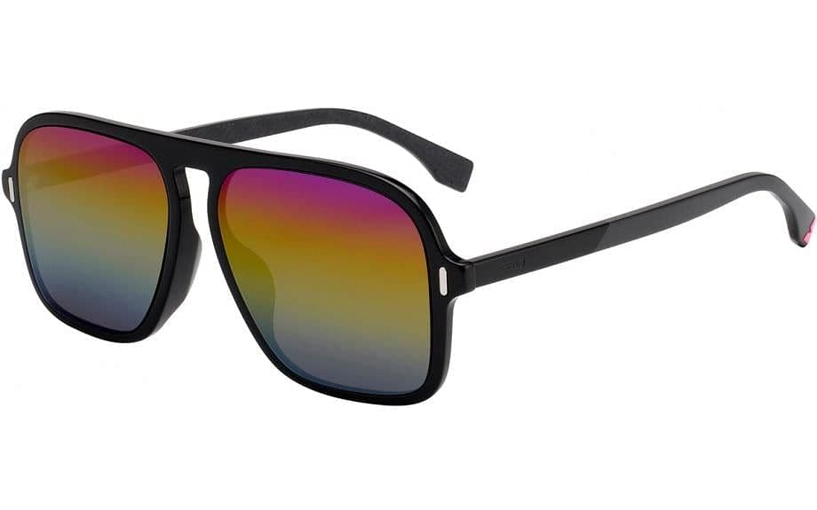 Fendi-FFM0066/F/S-0SDK/R3-Black Multicolor
