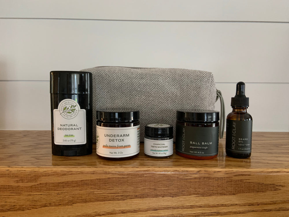Deluxe Dude Bundle with Shave Bag