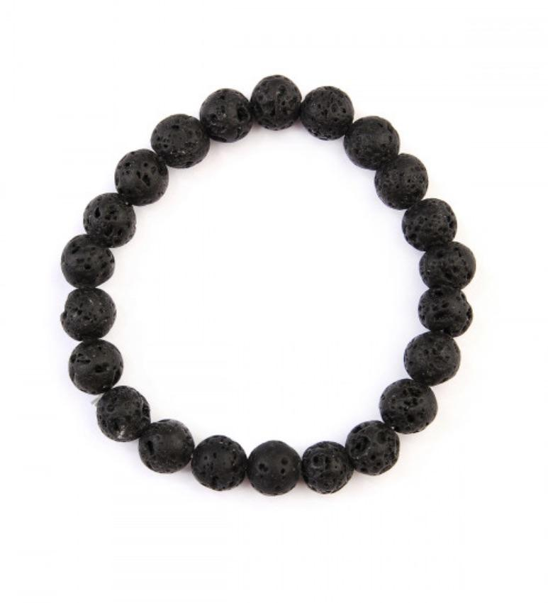Load image into Gallery viewer, Lava Stone Essential Oils Bracelet