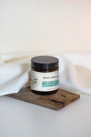 Body Balm Cream to Powder