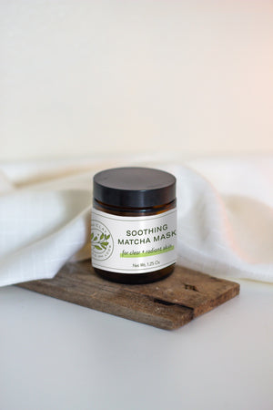 Soothing Matcha Face Mask