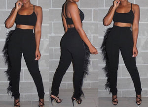 Tassel Pants Set