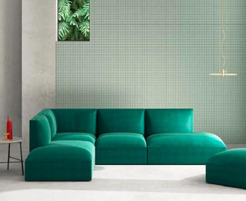 Mecella Fabric Sofa