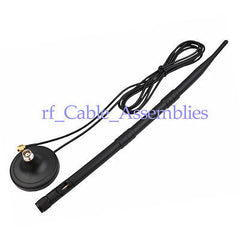 High Quality 9dB 3G Booster magnetic antenna SMA plug with base for 3G Devices
