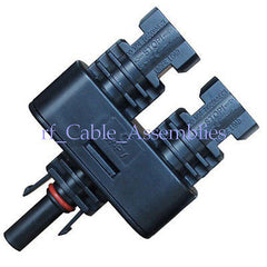1 Pair MC4 Male Female M/F Solar Connector Connectors for Photovoltaic Systems