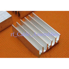 2pcs High Quality 10x30x22mm Aluminum Heat Sink CPU Computer Router Heat Sink