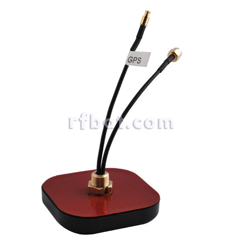GPS+GSM/3G Combined Antenna SMA / MCX connector