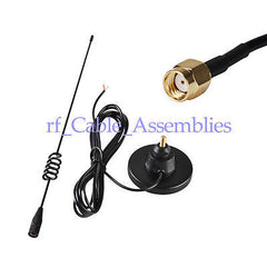 3G 850/1900/900/1800/2100Mhz 7DBi omnidirectional Magnetic antenna RP SMA male