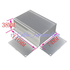 2X Aluminum Box Enclosure Case -4.33 *2.91 *1.50  Case Project electronic DIY