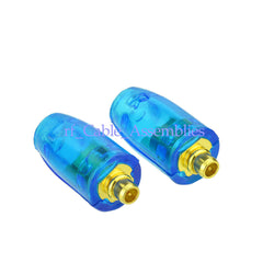 1 pair MMCX Connector Straight Blue shell For Shure SE215 SE315 SE425 earphone