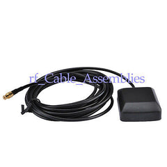 1575.42MHz GPS Active Antenna MCX male 3M cable RG174 for Garmin GlobalSat 12CX,
