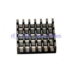 10X 18.5x18.5x5MM High Quality Aluminum Heat Sink Router Modem Chip Radiator New