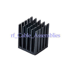 High Quality Aluminum Heat Sink 19x19x24mm Cooling Computer CPU +adhesive tape