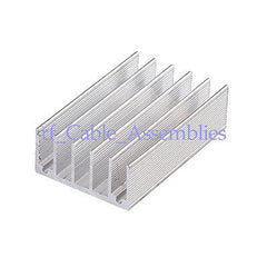 2PCS 65x41x19mm High Quality Aluminum Heat Sink Computer, CPU HeatSink Radiation