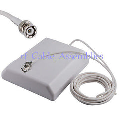 15dBi GSM /3G/UMTS BNC male plug panel antenna with extension cable 5m hot new