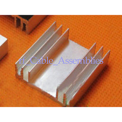 High Quality Aluminum Heat Sink Cooling DIY 30x30x10mm for Computer,Chips,Router