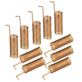 10pcs 433MHz 470MHz 490MHz 510MHz 868MHz 2dBi Helical Spiral Spring Remote Control Antenna