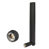 4G LTE 4dBi Omni-directional SMA Male Dipole Antenna for 4G LTE Wireless Router Outdoor Trail Camera Mobile Cell Phone Signal Booster Repeater