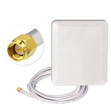 10dbi 2300-2700Mhz 4G LTE antenna aerial Panel mount SMA connector