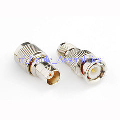 BNC-TNC adapter Kit male plug to jack 2 type Coaxial Adapter straight connector