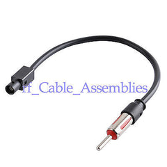 Vehicle FM Fakra Extension Cable Audio-only lanes FM radio adapter For Skoda