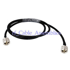UHF PL259 Male plug to PL-259 Male Pigtail Coax Cable RG58 50cm Wireless Antenna