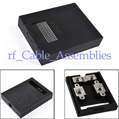10pcs PV Solar Junction Box for 2-10W module 2 rails,50*40*10mm screws inlcuded