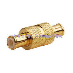 MCX Plug male to MCX male Straight Coax RF adapter connector