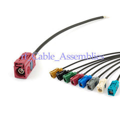 GSM antenna Extension cable Fakra Jack D  pigtail 15cm