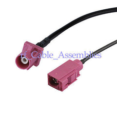 GPS antenna Extension cable Fakra SMB H 4003 female to male RG174 pigtail Radio