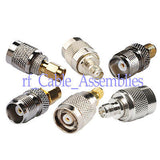NEW 6 types of SMA to TNC connector adapter KIT SMA TNC / RP SMA TNC,M/F...