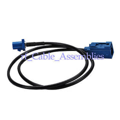 GPS antenna Extension cable Fakra C plug to jack female 6M cable RG174