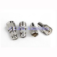BNC-UHF RF connector Adapter Kit BNC to UHF 4 type