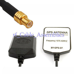Mini-GPS Active Antenna MCX series RFconnector 2M/3M/5M