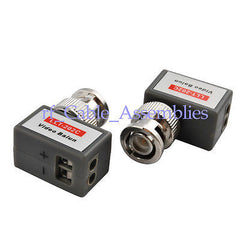 1 Channel UTP Passive Video Balun with Surge Protection Function Security CCTV