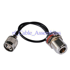RP-TNC Plug male N Jack female RF pigtail Cable RG174