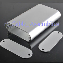 Aluminum Box Enclosure Case -4.33 *2.76 *0.94 (L*W*H) silver