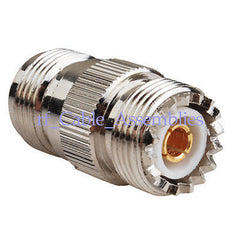 10pcs UHF SO-239 Female to N-Type Female jack RF Adapter N-UHF (Britsh Version)
